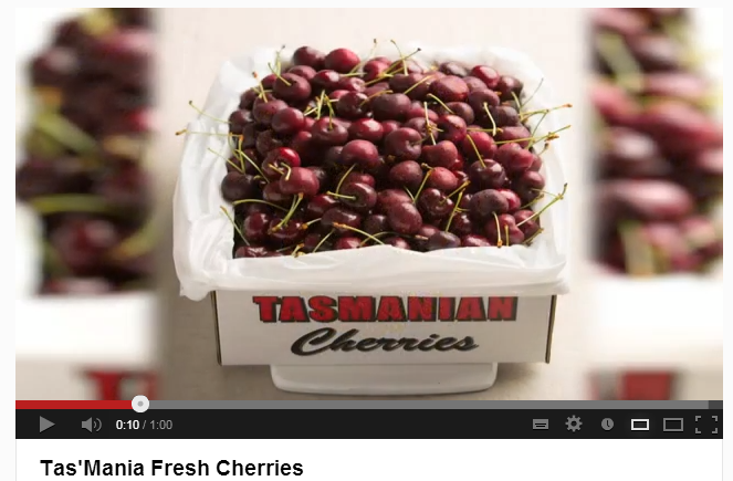 Fresh Cherries from Tasmania
